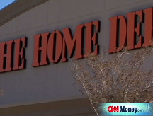 Housing hits Home Depot