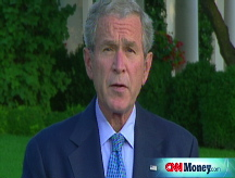 Bush pushes bailout plan