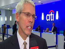 Citi CFO discusses bailout