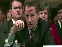 Geithner confronts critics