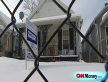 Foreclosure victims won't budge