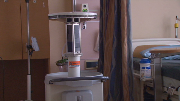 Robot cleaner a'game changer' for hospital infection epidemic